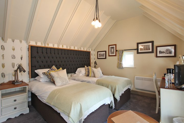 Falcon inn redecorated by anston decorators